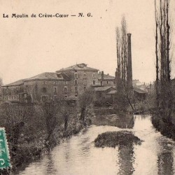 carte postale ancienne : Moulin de Crève-Coeur